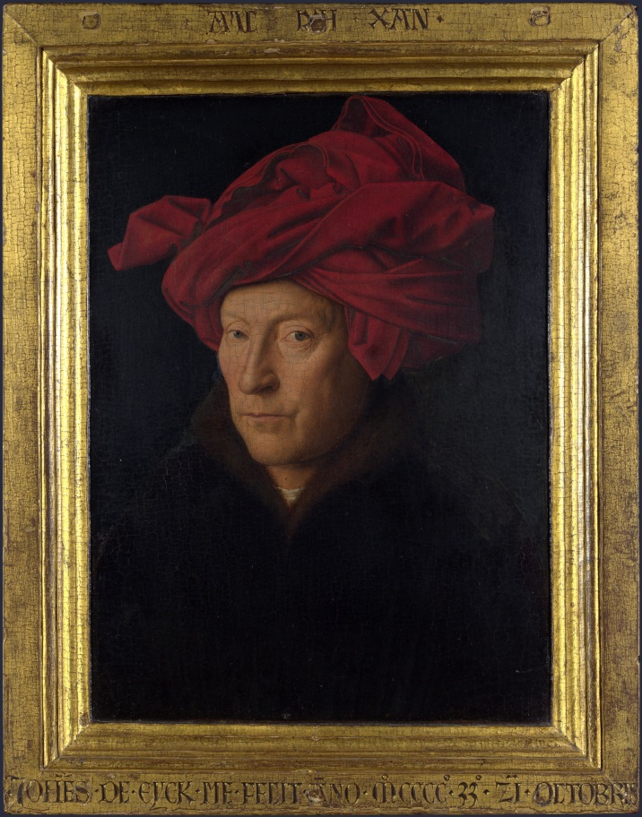 Portrait_of_a_Man_in_a_Turban_(Jan_van_Eyck)_with_frame